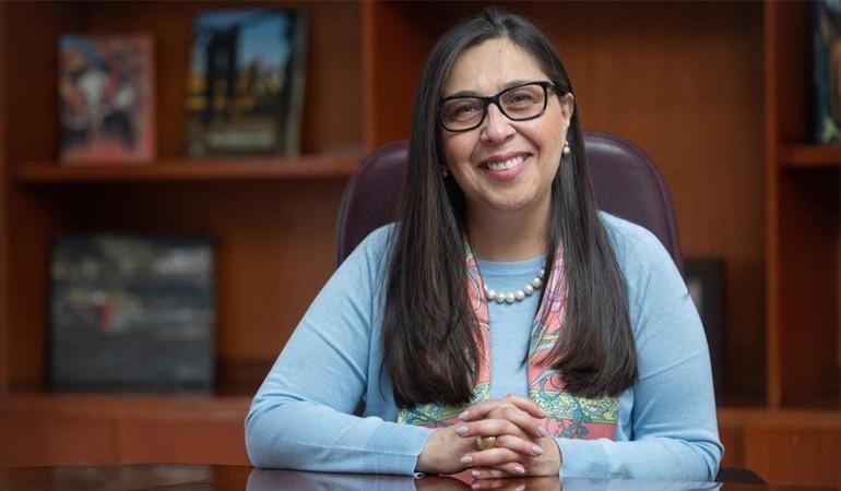 Se posesionó la nueva viceministra de Minas, Sandra Sandoval