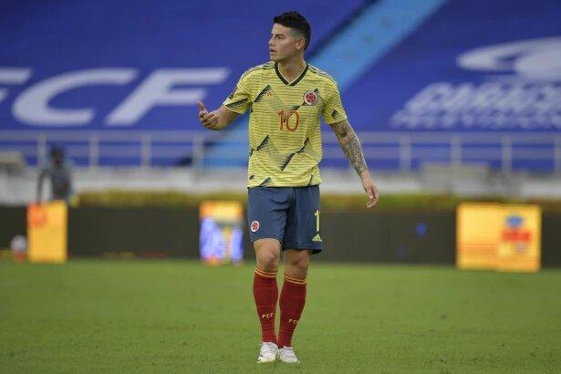 """""""Hay que levantar cabeza"""", el mensaje de ánimo de James Rodríguez para la Selección Colombia"""
