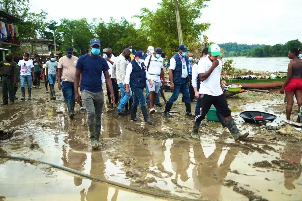 Defensor pide reubicar urgente comunidad en Lloró, Chocó, por inundaciones