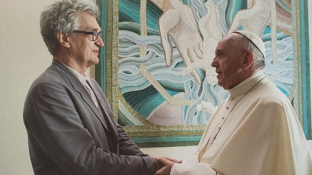 """Un libro narra la película """"Un hombre de palabra"""" de Wim Wenders"""