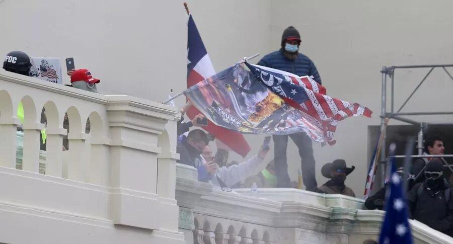 Toque de queda en Washington: manifestantes pro-Trump no dejaron declarar ganador a Biden