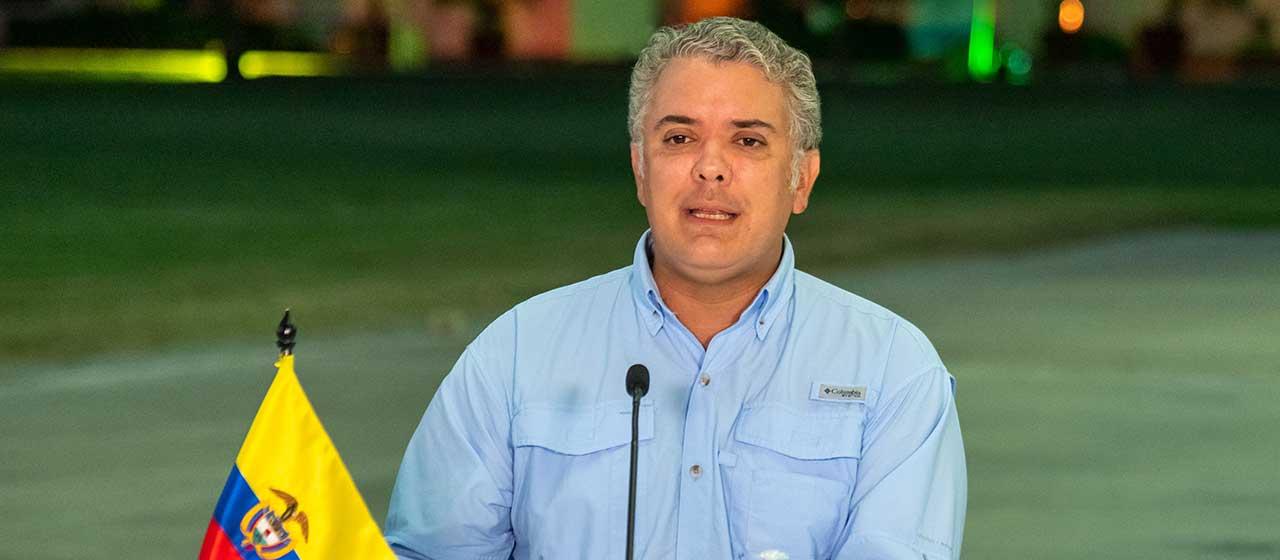 Presidente Duque anuncia que Colombia completó adquisición de dosis para vacunar a 35 millones 250 mil personas contra covid-19