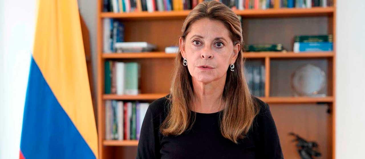 Declaración de la Vicepresidenta Marta Lucía Ramírez por la muerte del Ministro de Defensa, Carlos Holmes Trujillo