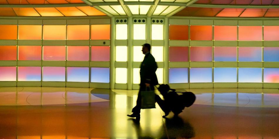Hombre vivió tres meses en un aeropuerto 'por miedo al coronavirus'