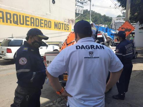 Para fortalecer las capacidades de respuesta a emergencias, el Dagran entregó herramientas y equipos a 22 municipios de Antioquia