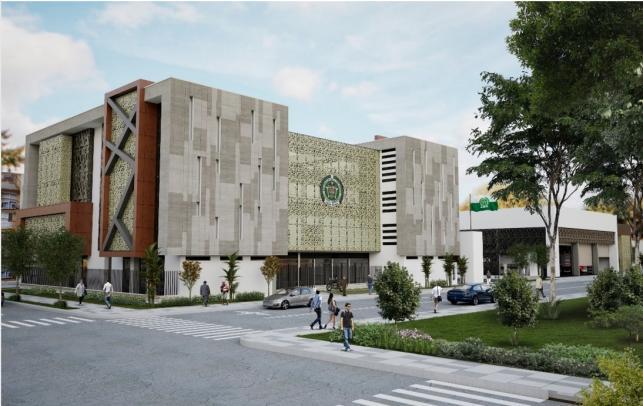 Inició la construcción de la estación de policía y la sala técnica de la Sijín en la comuna Guayabal
