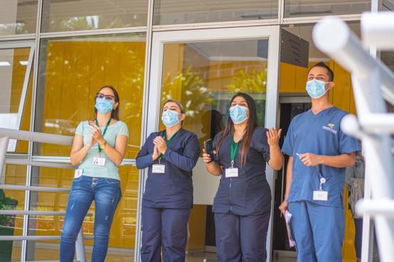 Con Música por la Vida, la Alcaldía de Medellín lleva un símbolo de esperanza a los hospitales