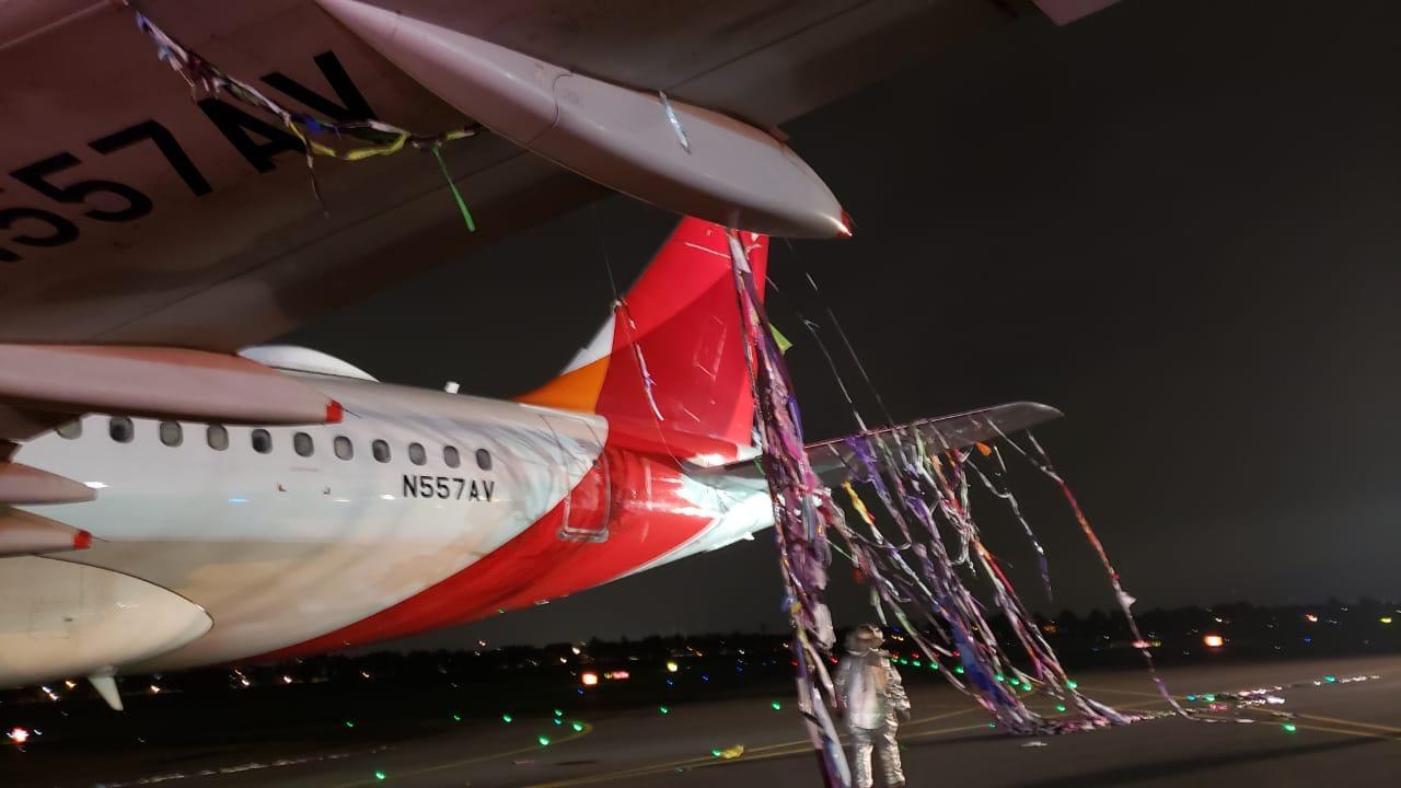 Globo que impactó con avión en Bogotá fue lanzado desde el Valle de Aburrá
