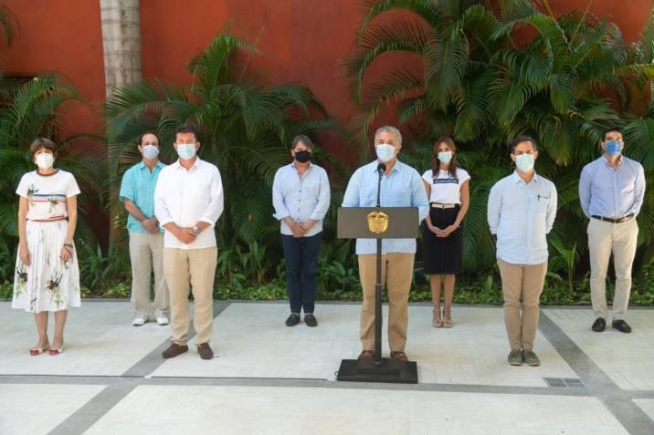 Presidente Duque anuncia nuevas jornadas de 'Gran Finde' para reactivar el turismo en el país de manera segura