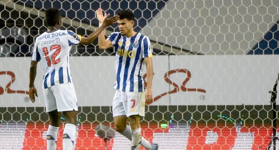 Luis Díaz mantiene gran nivel tras superar el COVID-19 y marca un nuevo gol para el Porto