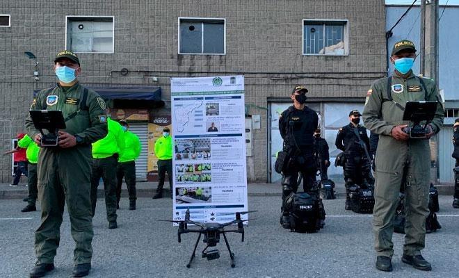 La Policía Nacional presentó este lunes el 'plan 100 contra el microtráfico'