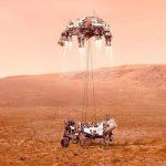La NASA revela el primer video del aterrizaje de Perseverance en Marte