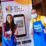 La ministra Karen Abuiden, se reúne con emprendedores a tres días de cierre de 'Quiero mi tienda virtual'