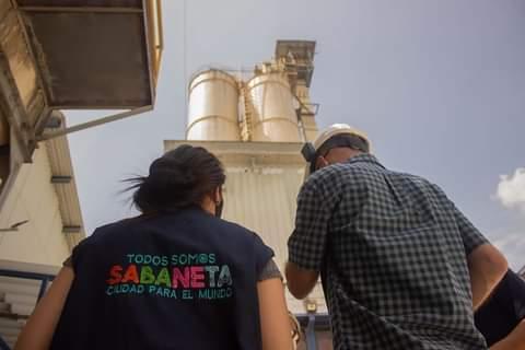 Secretaria de Medio  Ambiente de Sabaneta en articulación con el Area Metropolitana, realiza visitas de inspección y vigilancia a diferentes empresas del Municipio