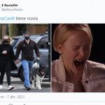Henry Cavill, protagonista de Superman, mostró a su novia y Twitter estalló en memes de la envidia por parte de sus fans